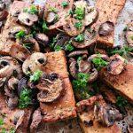 Balsamic Tofu and Mushrooms @ vegetarianmamma.com 2