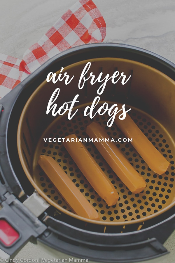 Air Fryer Hot Dogs are going to be your favorite way to prepare hot dogs this summer! Hot dogs in the air fryer are delicious and easy to prepare.