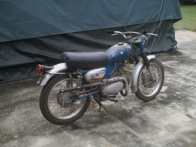 Sears 106 Cc Motorcycle