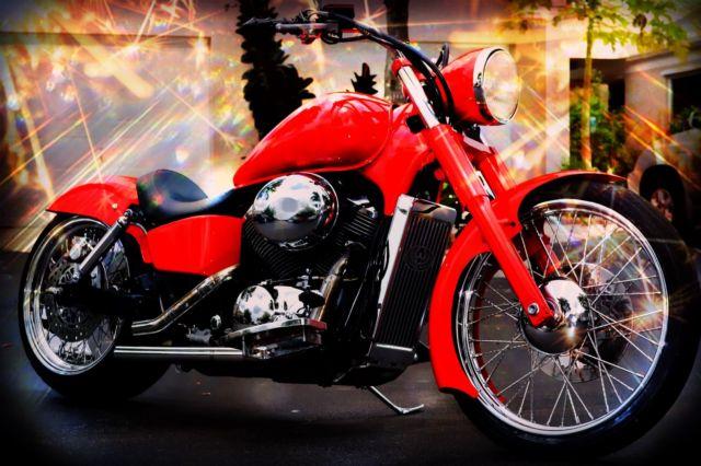 Custom Big Red Side Side