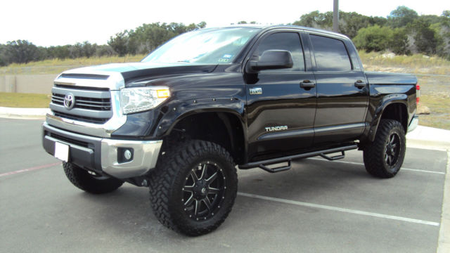 2014 Toyota Tundra Sr5 Crewmax 5 7l V8 4x4 Factory Lifted