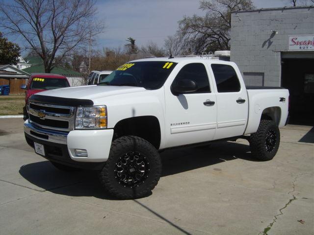 White 4 Inch Lift Chevy