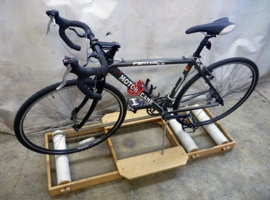 Bisikleta sa riding track
