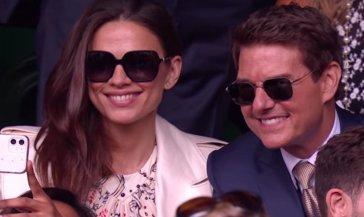 Tom Cruise a Wimbledon per la finale e svela chi tiferà per Euro 2020