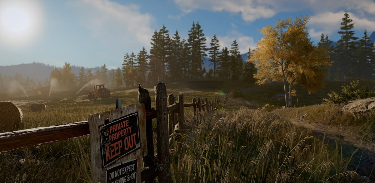 Far Cry 5 focuses on a terrifyingly realistic armed cult   VentureBeat Above  A place where people want to be left alone