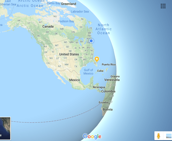 Google Maps is now a globe    just zoom out   VentureBeat We tested it on Chrome  Firefox  and Edge     they all showed the globe just  fine  This is all thanks to WebGL  although not WebGL 2