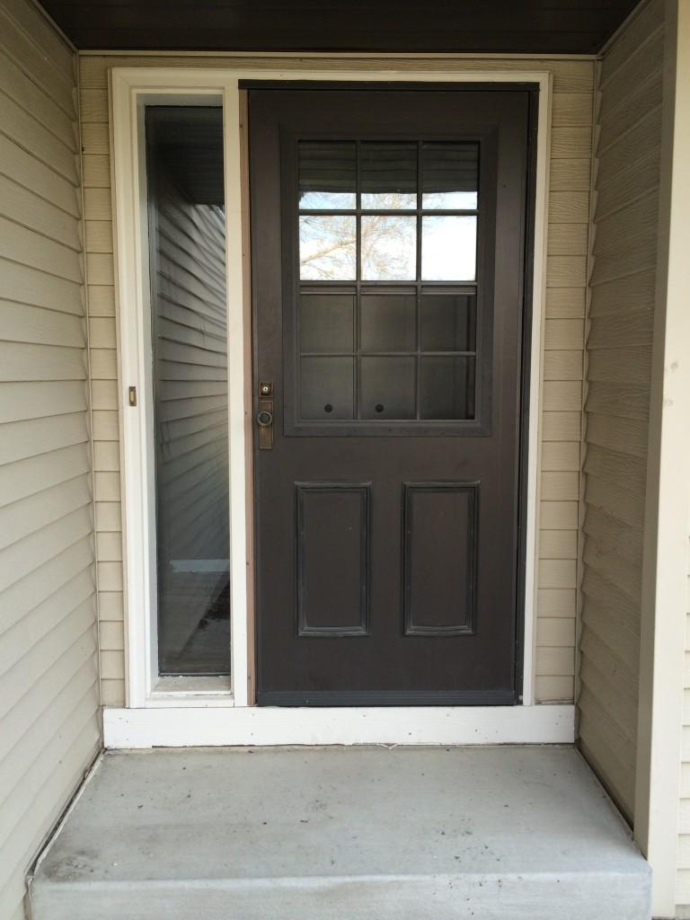 New Front Screen Door Verlo House To Home