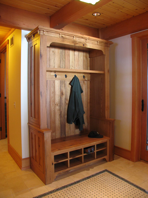 Mission Style Post And Beam Vermont Custom Cabinetry
