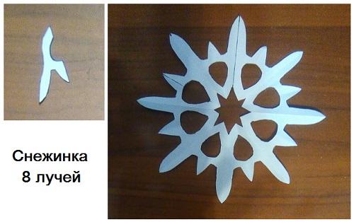 Snowworking Kertas Snowflake.