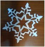 Kelas Induk Bagaimana Membuat Snowflake Fluffy Putih Kertas