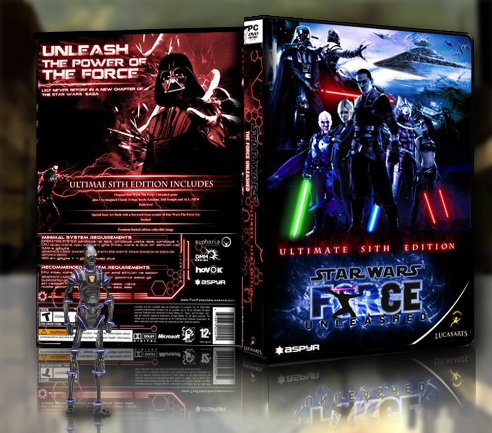 Star Wars Force Unleashed 2 Cheat Codes
