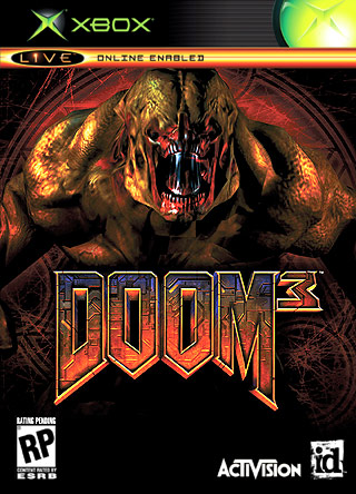 Doom 3 Xbox Box Art Cover By Staceass