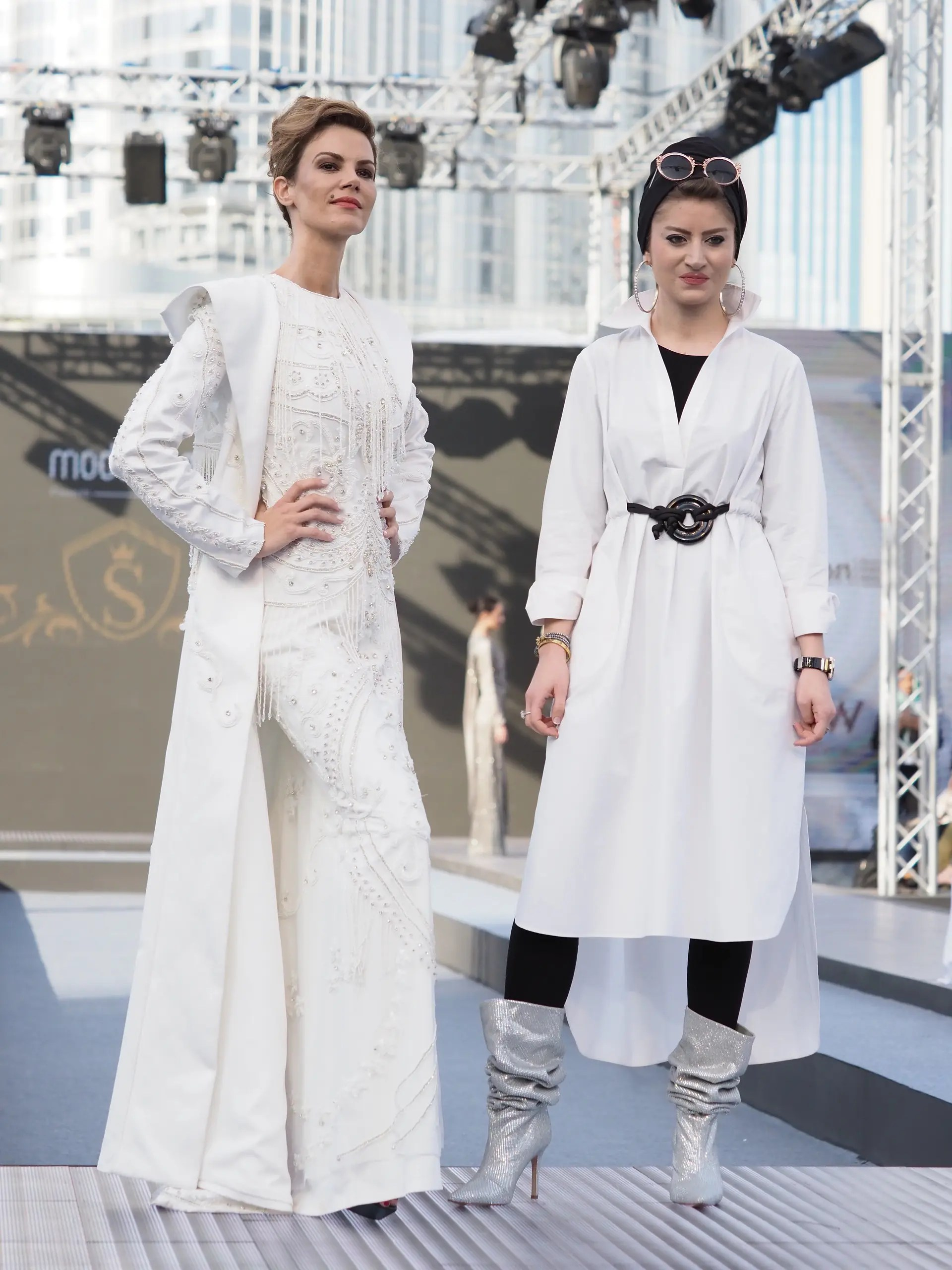 The 10 best looks from Dubai Modest Fashion Week   Al Arabiya English A favourite with e commerce modest fashion site  Modanisa customers   Turkish label Selma Sari offers elegance and comfort in both casual styles  and