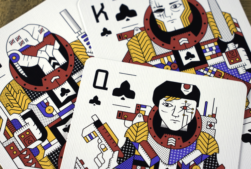 Designers Turned Playing Cards Into A Legit Sci Fi