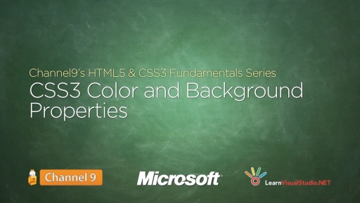 Css3 Color And Background Properties 14 Html5 Amp Css3