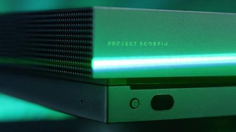 Microsoft Xbox One X Scorpio Edition Trailer Gc 2017