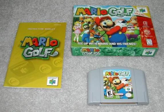 The Video Game Critic s Nintendo 64 Console Review box