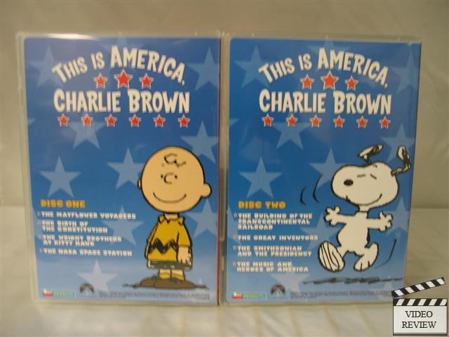 this is america charlie brown the mayflower voyagers dvd