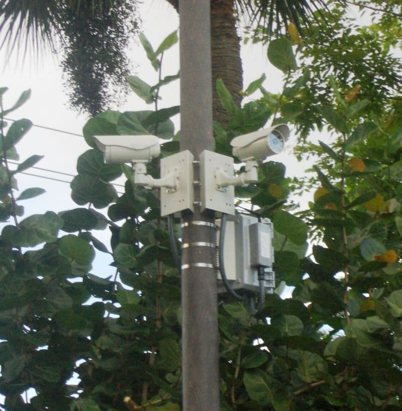 Four Camera Wireless Security System