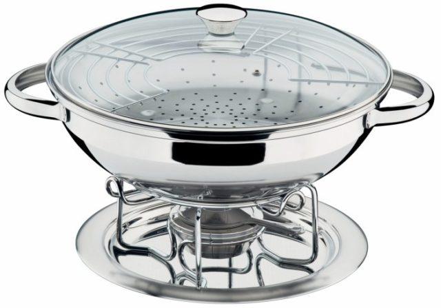 উত্তপ্ত wok