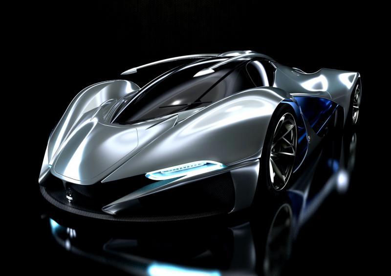 Futuristic Concept Supercars Viewkick