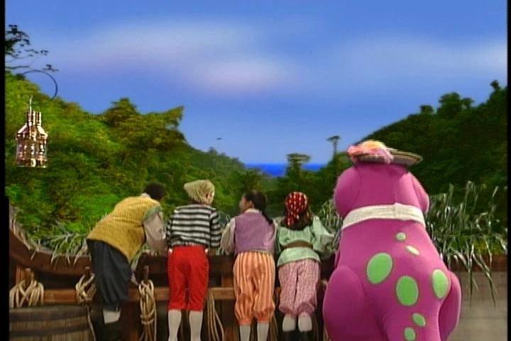 Just Imagine Barney Imagination Island