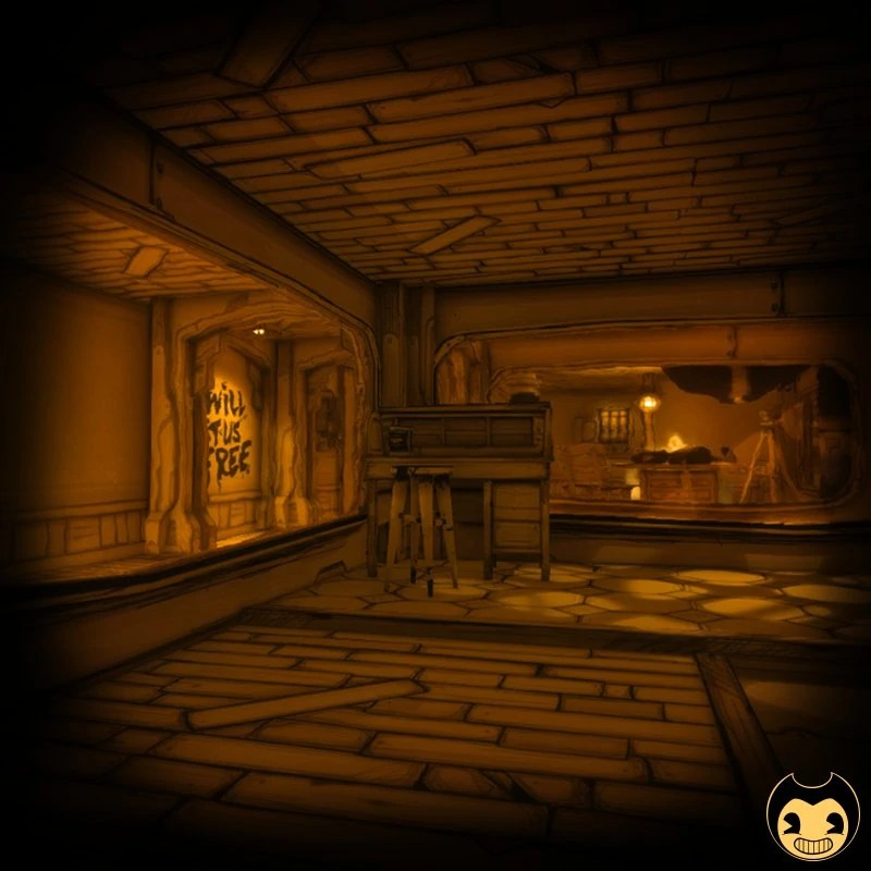 Small Workshop Bendy And The Ink Machine Wiki Fandom