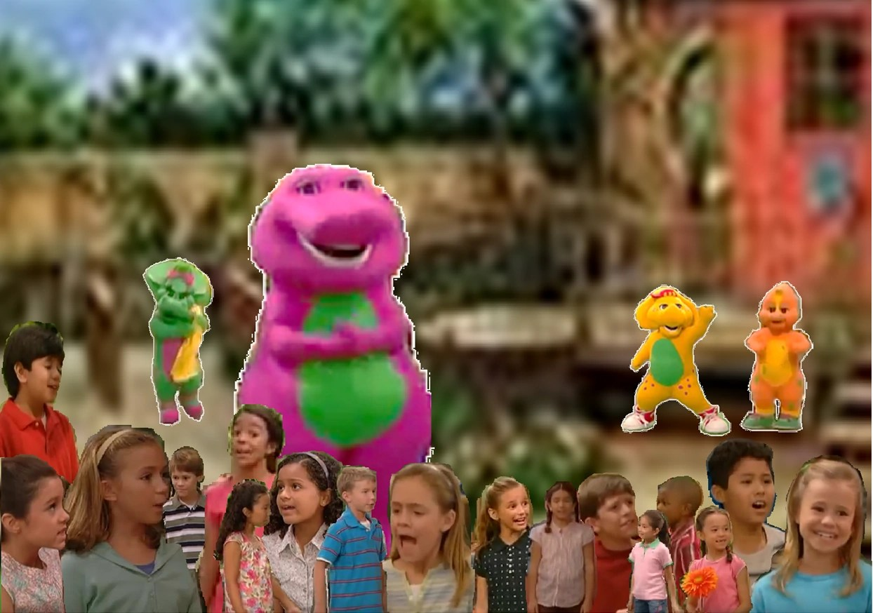Barney Families Are Special Trailer