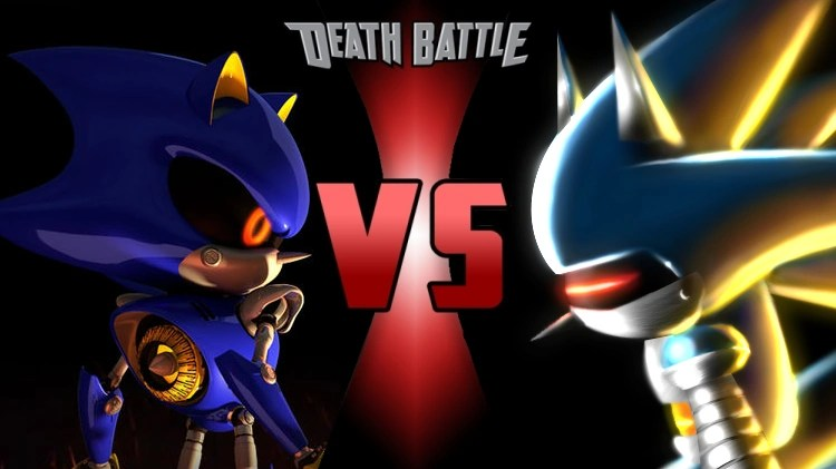 Metal Sonic Vs Mecha Sonic