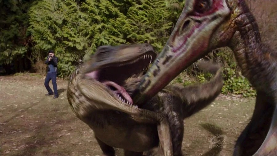 deinonychus primeval movie - 900×506