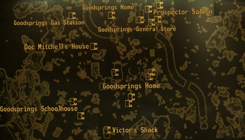 Image   Goodsprings local map png   Fallout Wiki   FANDOM powered by     Goodsprings local map png