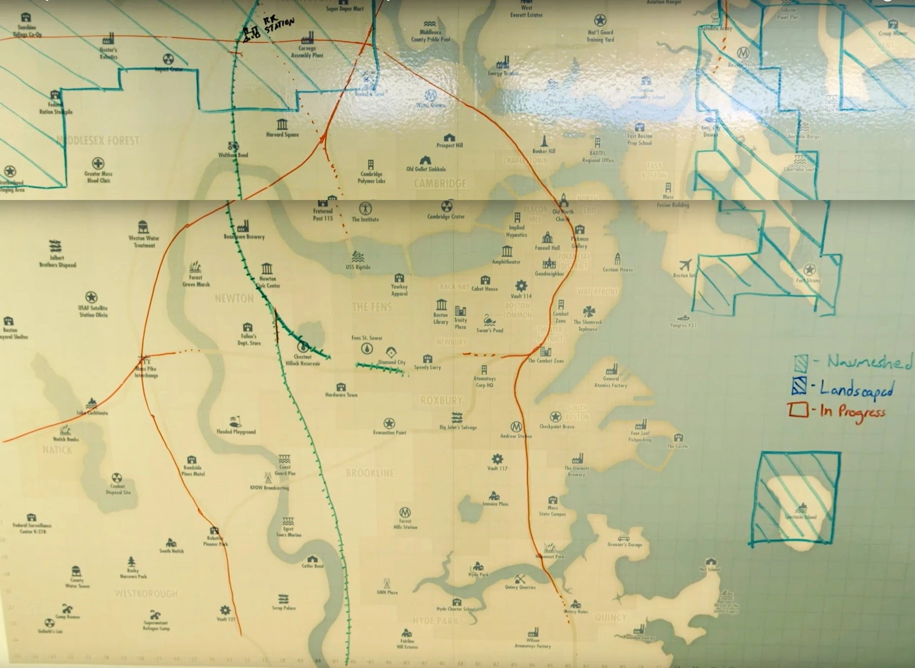 Image   Fallout 4 Concept map  jpg   Fallout Wiki   FANDOM powered     Fallout 4 Concept map  jpg