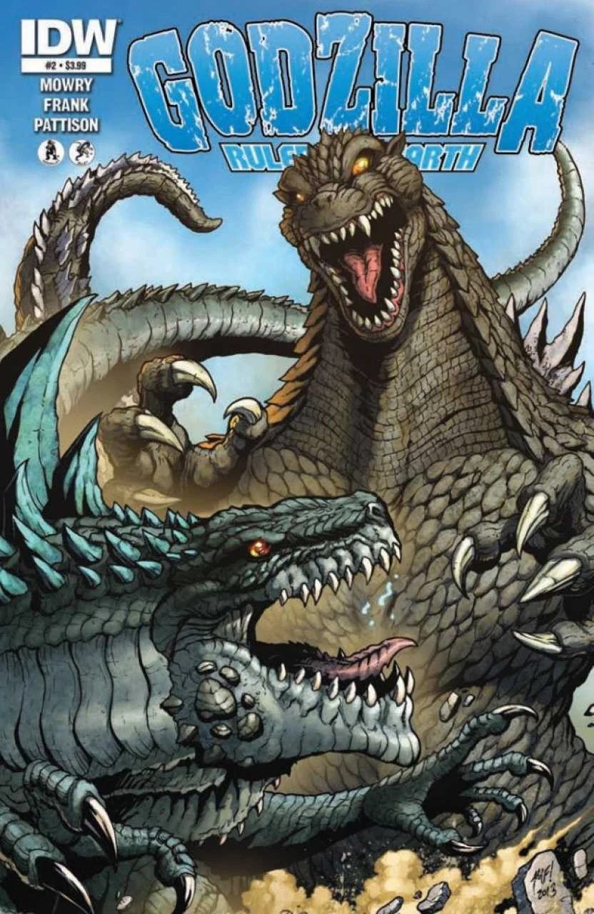 Godzilla: Rulers of Earth Issue 2 | Gojipedia | FANDOM ...