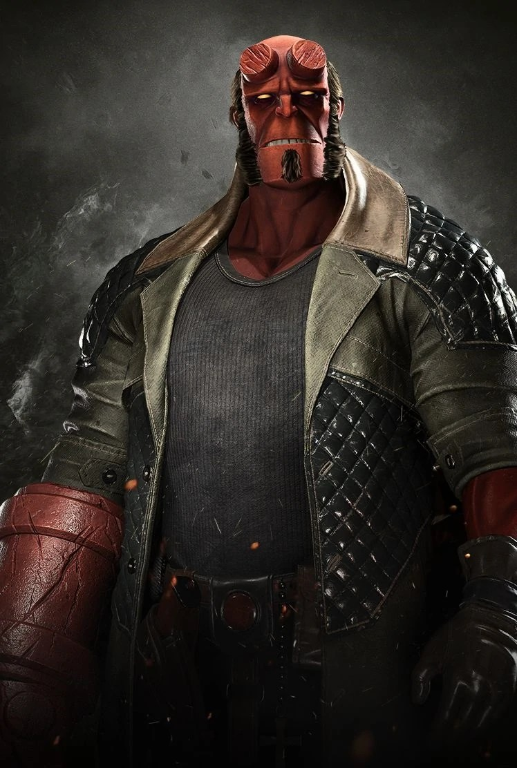 Hellboy Injustice Gods Among Us Wiki Fandom Powered By