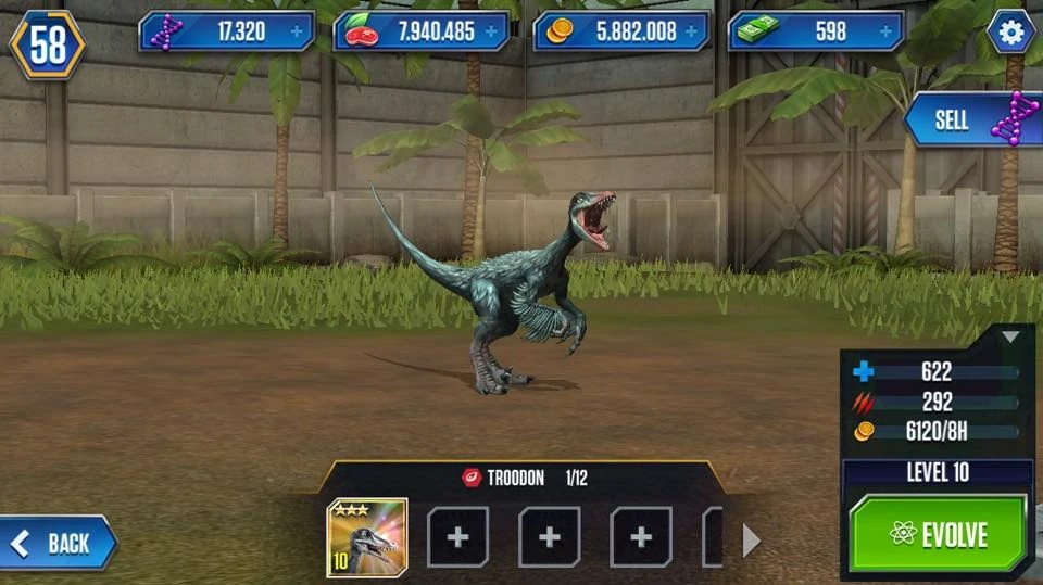 Jurassic Park The Game Troodon