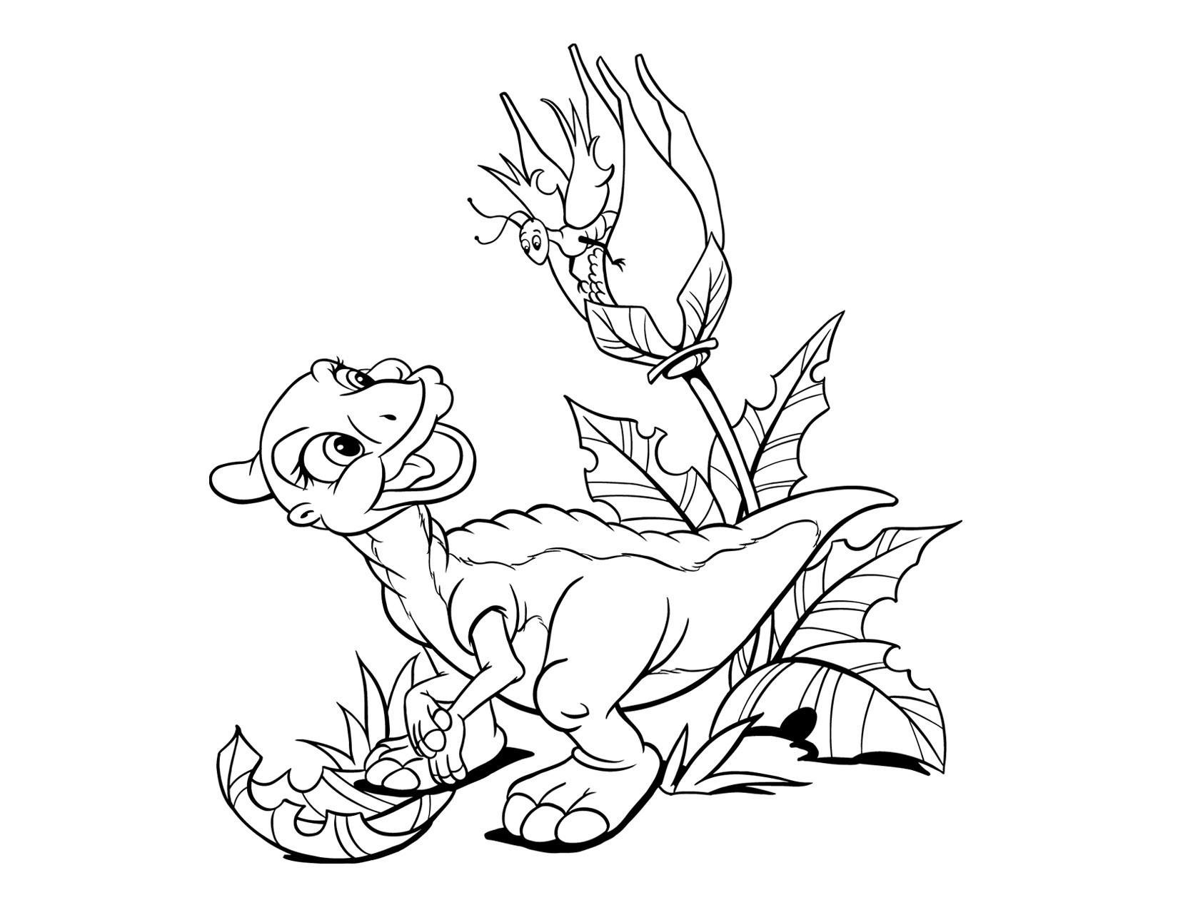 The Land Before Time Coloring Pages Free Coloring Pages Download ...