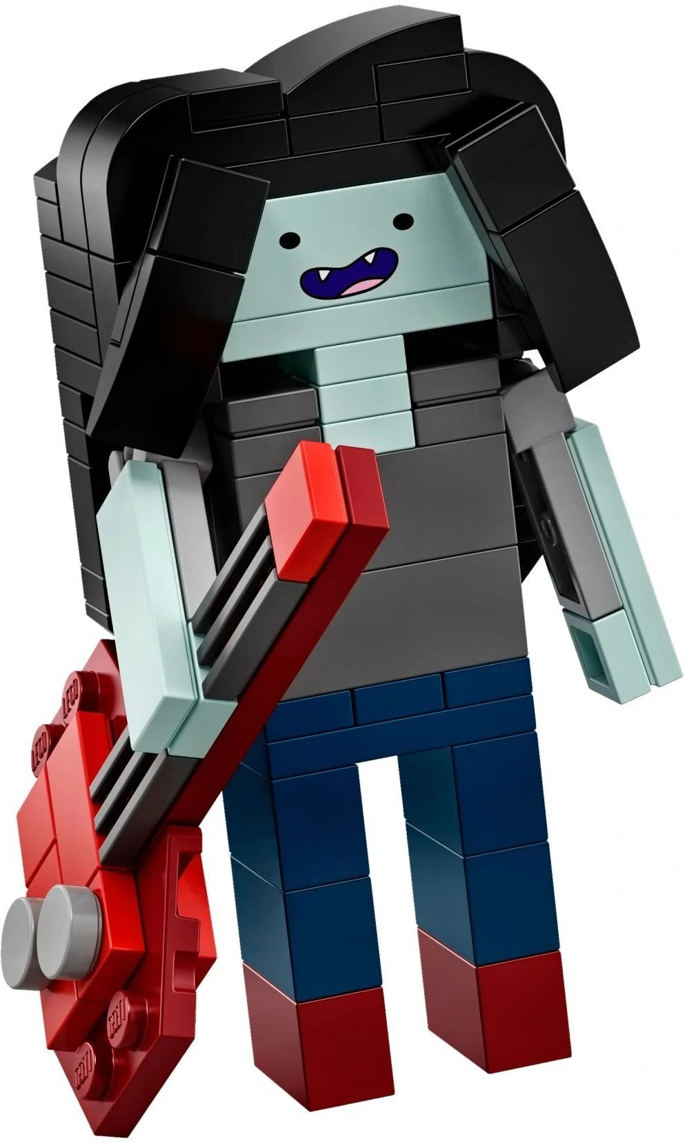 Marceline the Vampire Queen   Brickipedia   FANDOM powered by Wikia Brick Built Marceline from 21308 Adventure Time