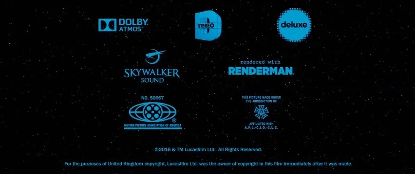 Dolby Stereo Iatse Credits