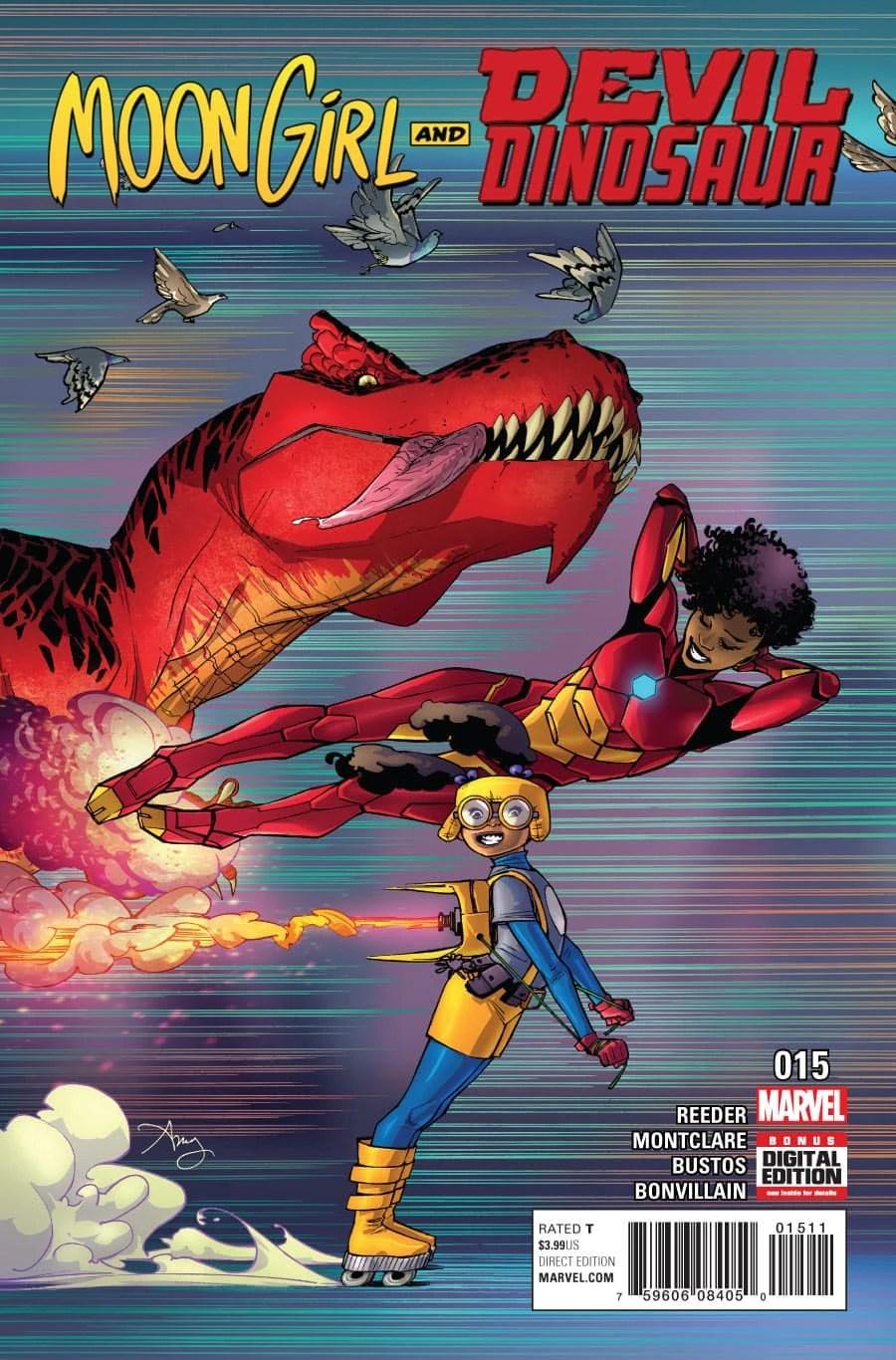 Moon Girl And Devil Dinosaur Vol 1 15 Marvel Database