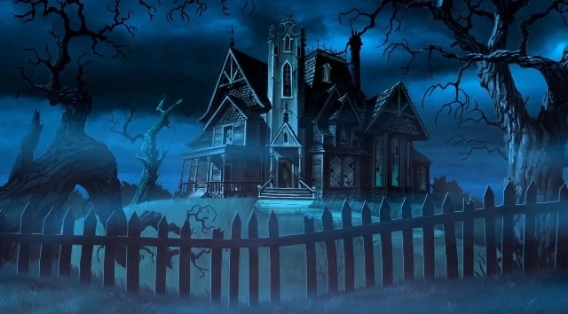 Haunted Mansion Scooby Doo Legend Of The Phantosaur