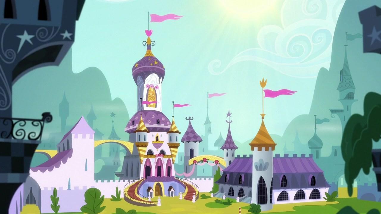 mlp celestia castle - 1280×720