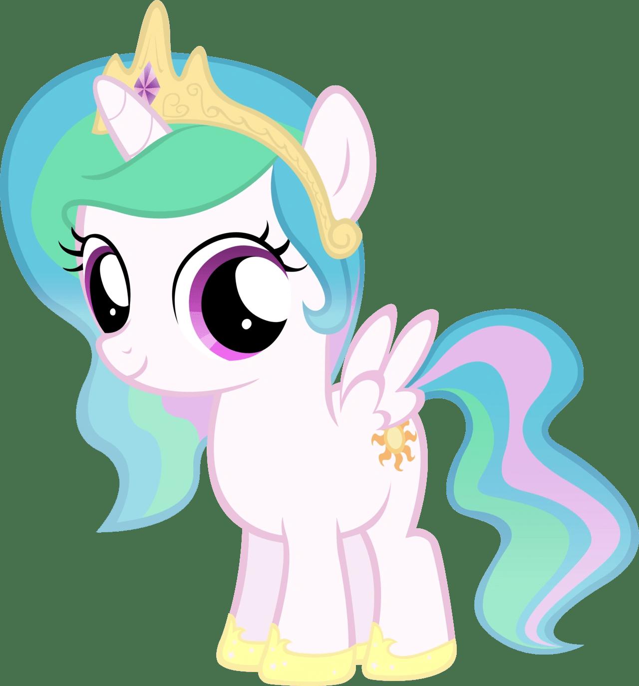 Image Celestia Filly By Moongazeponies My Little Pony Fan