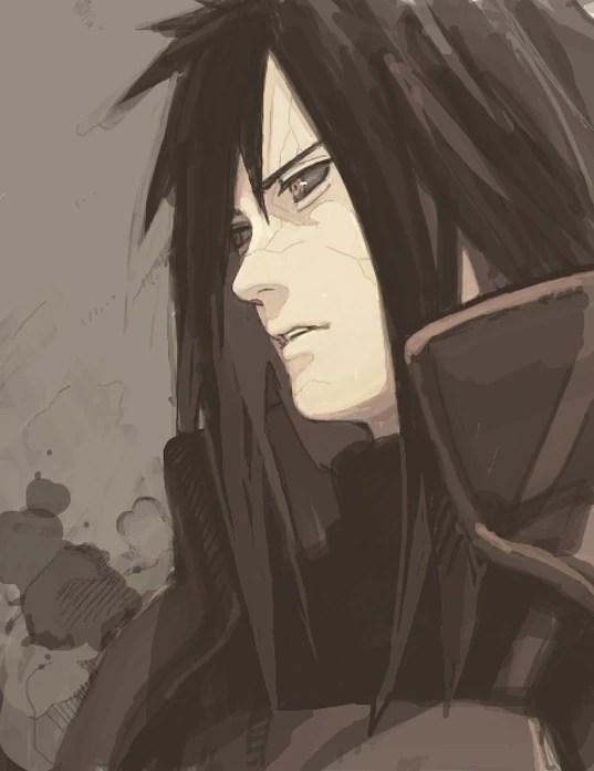 Uchiha Madara Eye Naruto