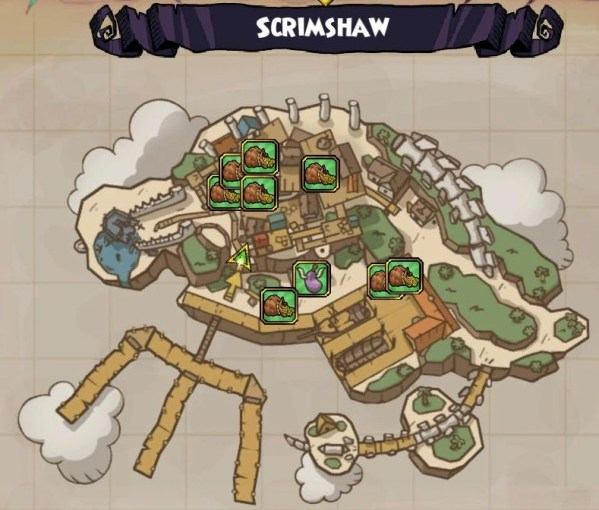 Image   Map Scrimshaw png   Pirate 101 Wiki   FANDOM powered by Wikia Map Scrimshaw png