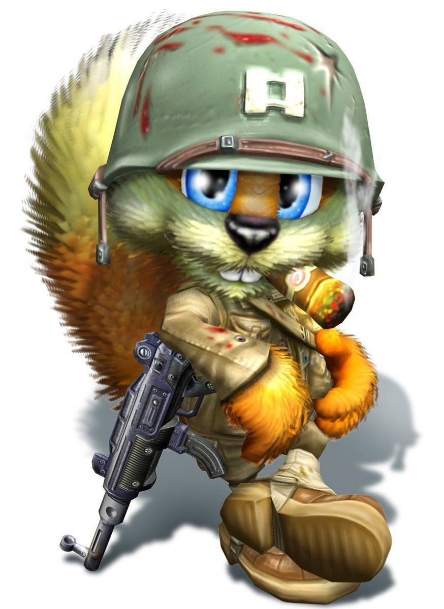 Conker Squirrel Characters