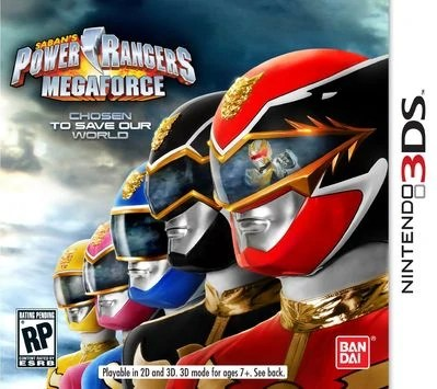 Power Rangers Megaforce  video game    RangerWiki   FANDOM powered     Power Rangers Megaforce is a side scrolling video game for the Nintendo 3DS    It was released on November 30  2013 and officially released cards can be