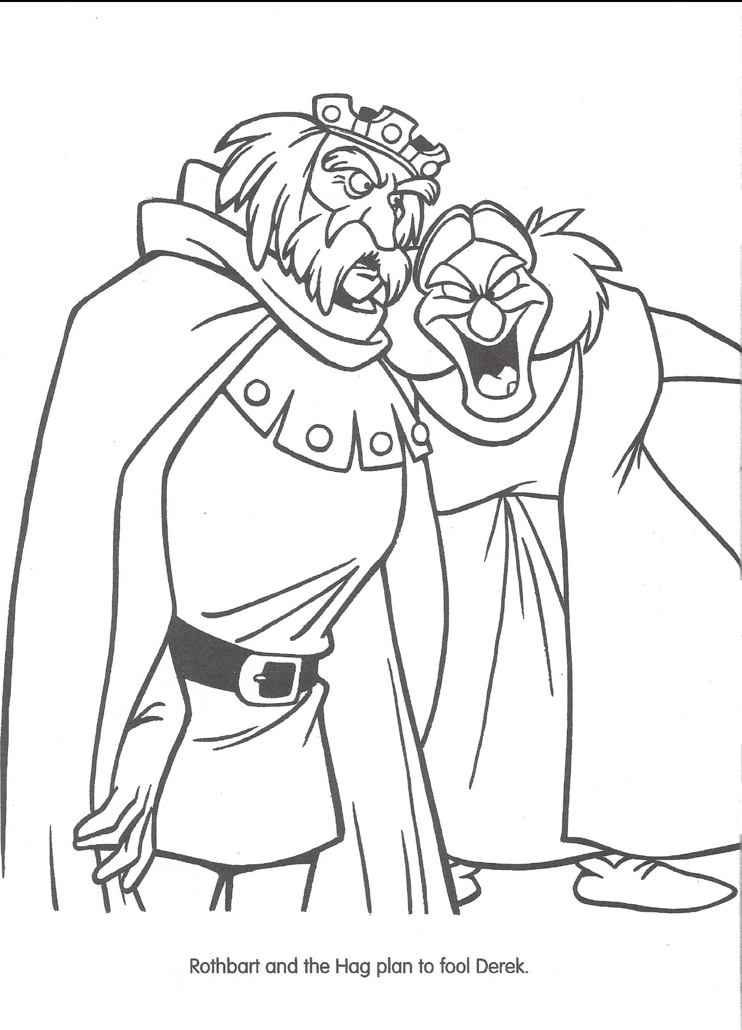 Image Swan Princess Official Coloring Page 39 Richard Rich