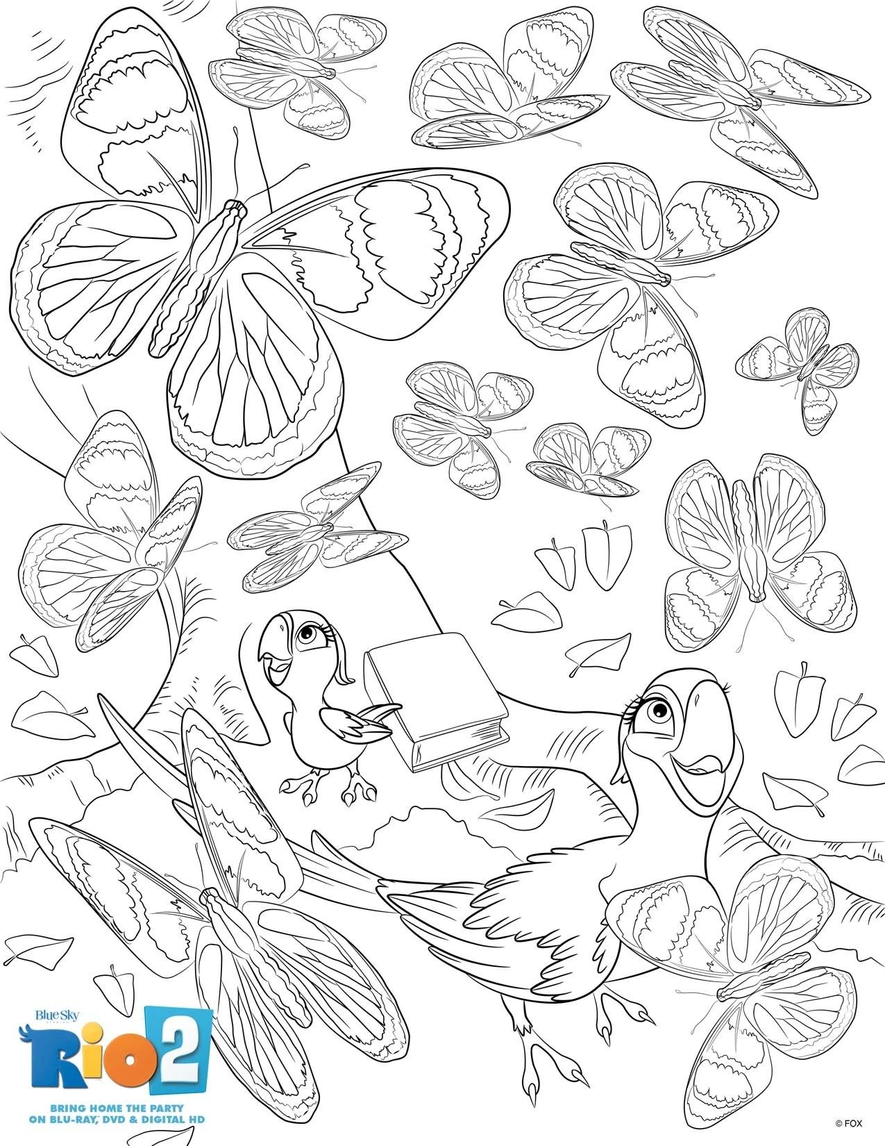 Image Rio2 Printables Coloring 13 Rio Wiki Fandom