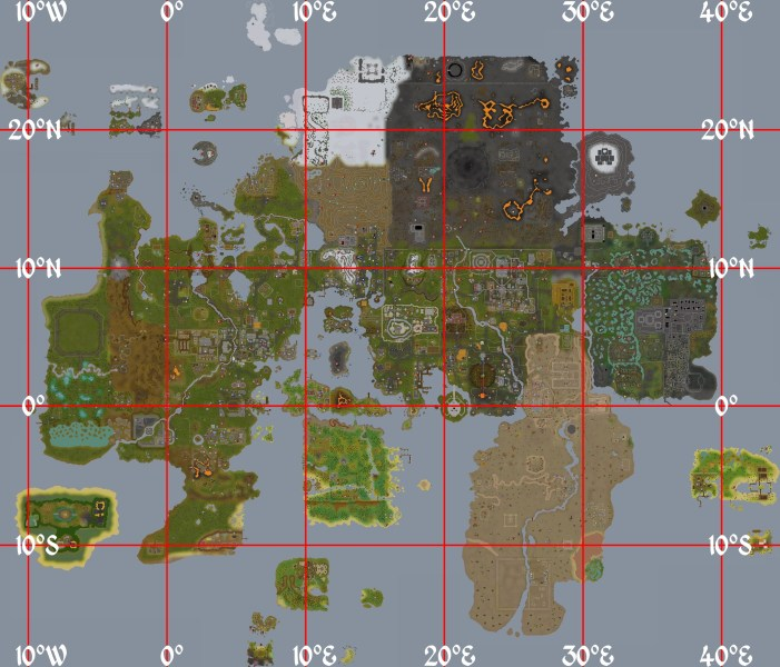 Image   Coordinate map png   RuneScape Wiki   FANDOM powered by Wikia 07 13  August 19  2013