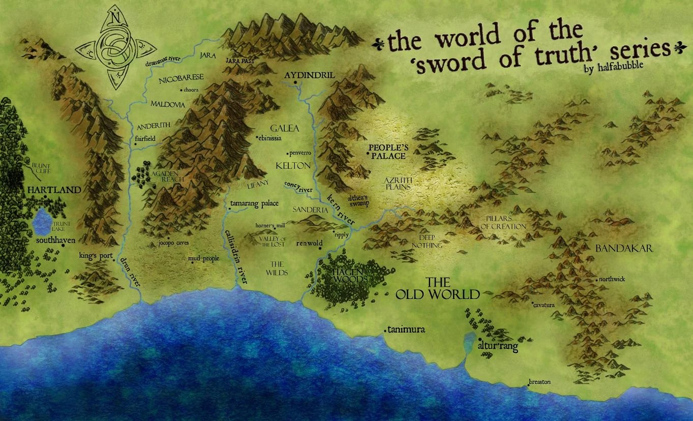 Image   Map jpg   Sword of Truth Wiki   FANDOM powered by Wikia Map jpg
